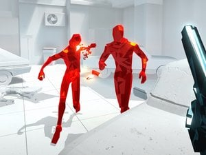 Superhot asks that we do something different with a gun in our hands photo