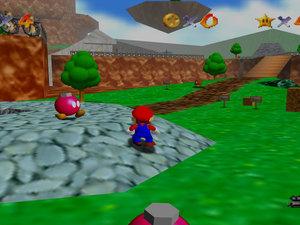Mario 64 Glitch photo