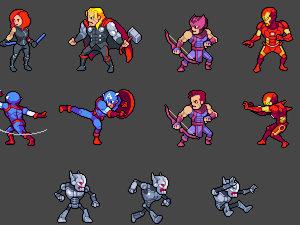 Tiny Avengers photo