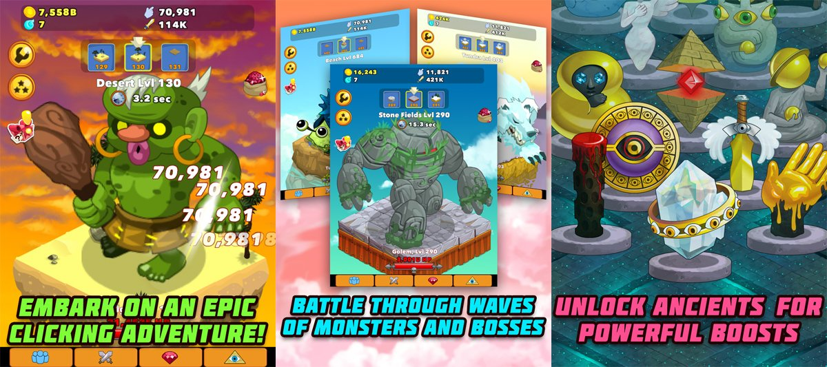 We're doomed: Clicker Heroes hits iOS, Android