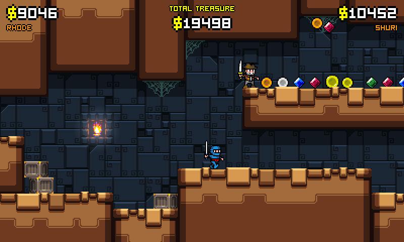 Renegade Kid gives us a few updates, Treasurenauts back in development screenshot