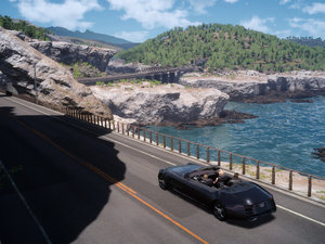 Check out that new Final Fantasy XV driving footage in HD photo