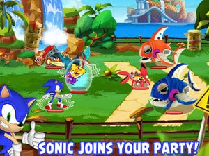 Sonic on Piggy Island photo