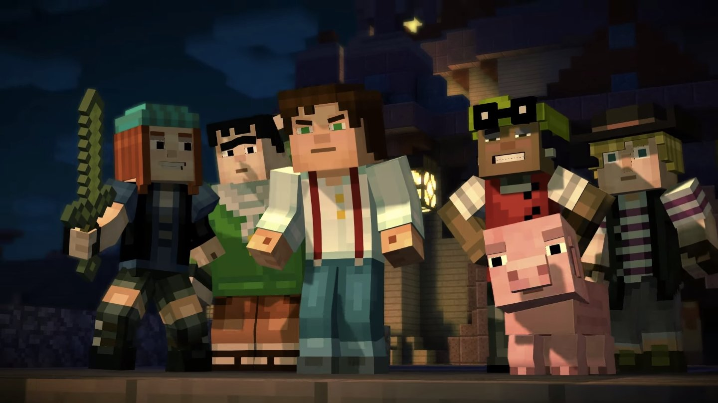 Minecraft: Story Mode photo