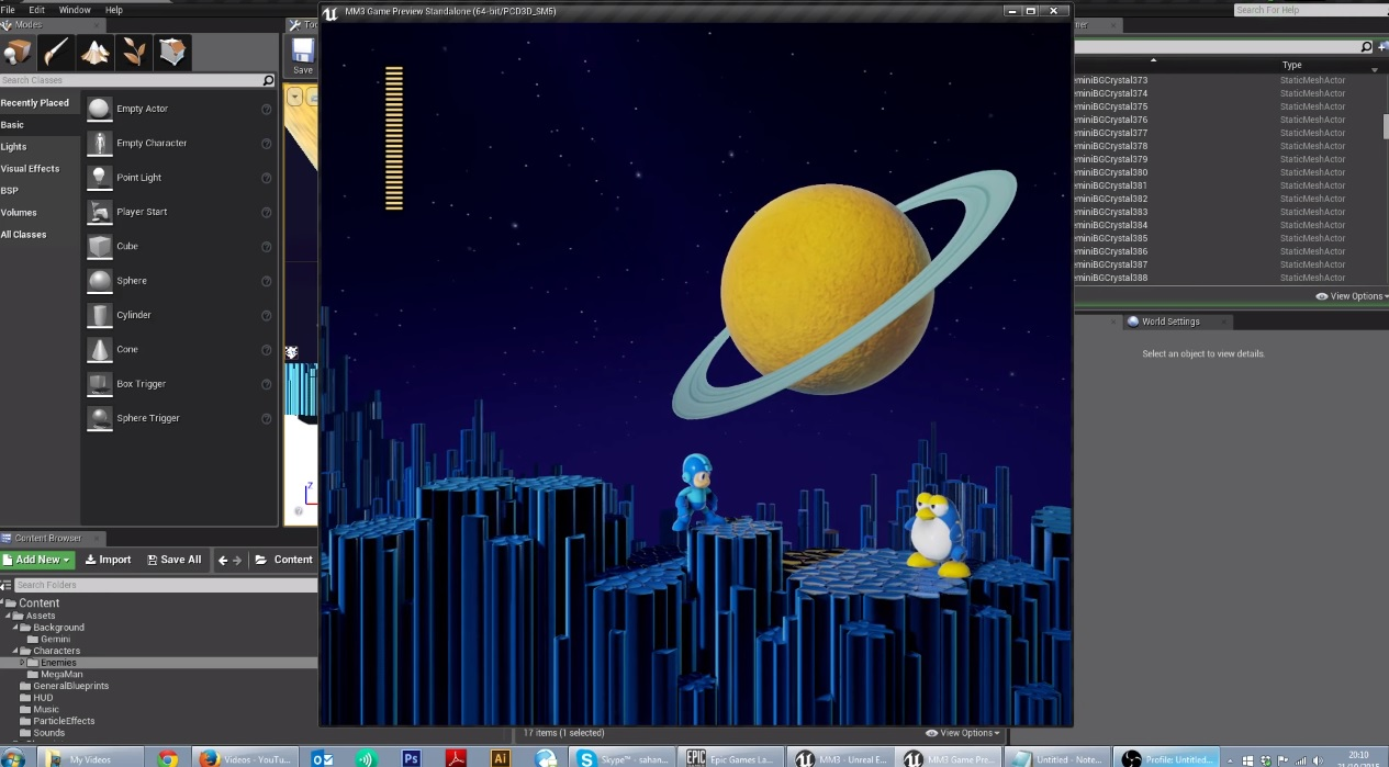 Mega Man 3 in Unreal 4 is arguably better looking than Mighty No  9