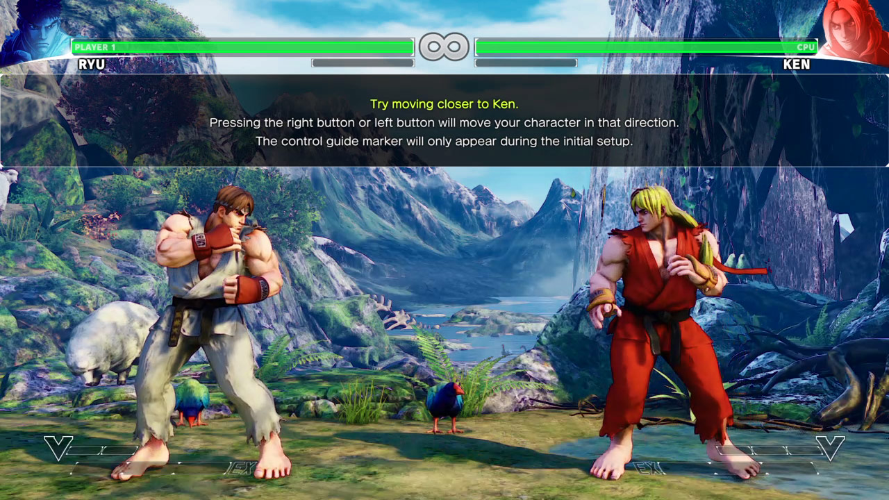 Street Fighter V Beta Gets Story Tutorial With Alpha Ken And Ryu