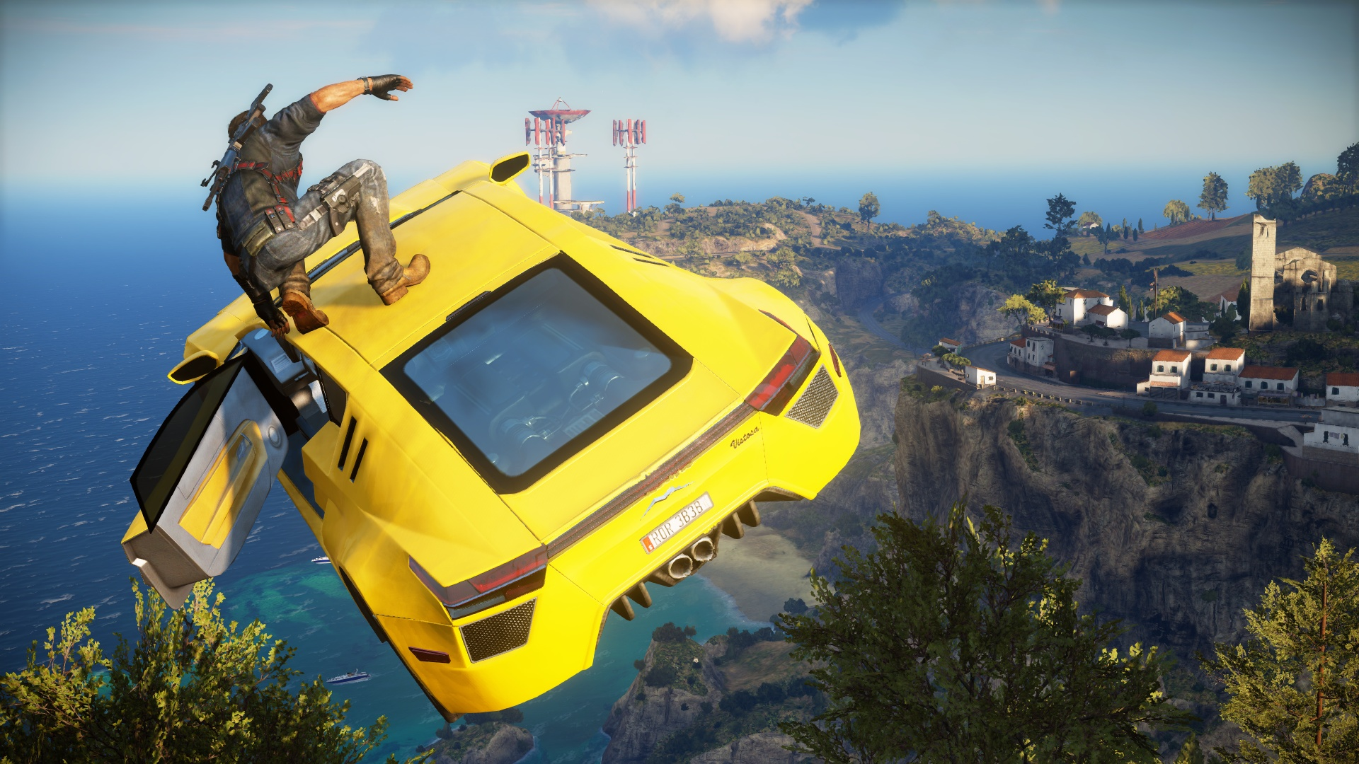 Just Cause 3 runs better on PS4 than Xbox One