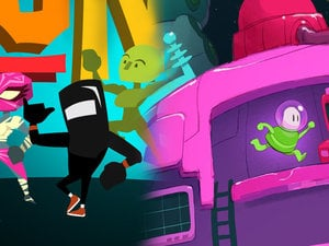Rally 'round the family with Runbow and Lovers in a Dangerous Spacetime  photo