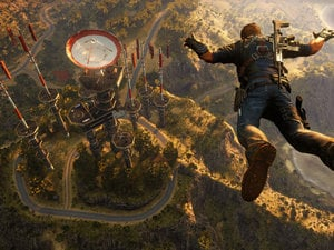 The first hour of Just Cause 3 is predictably wild photo