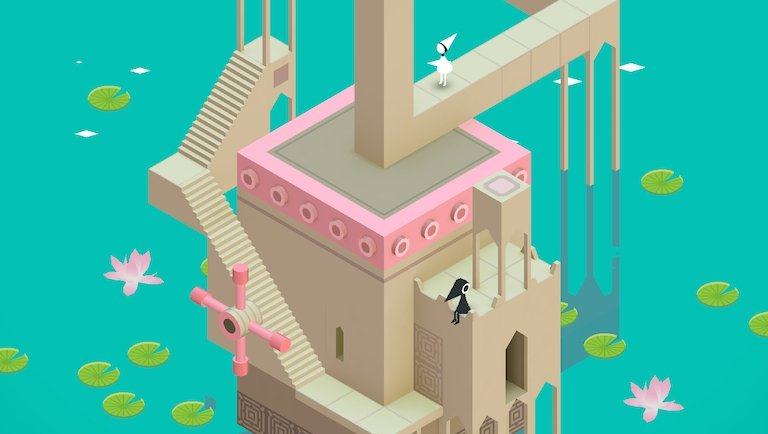 Escher-esque puzzle game Monument Valley is currently available for free
