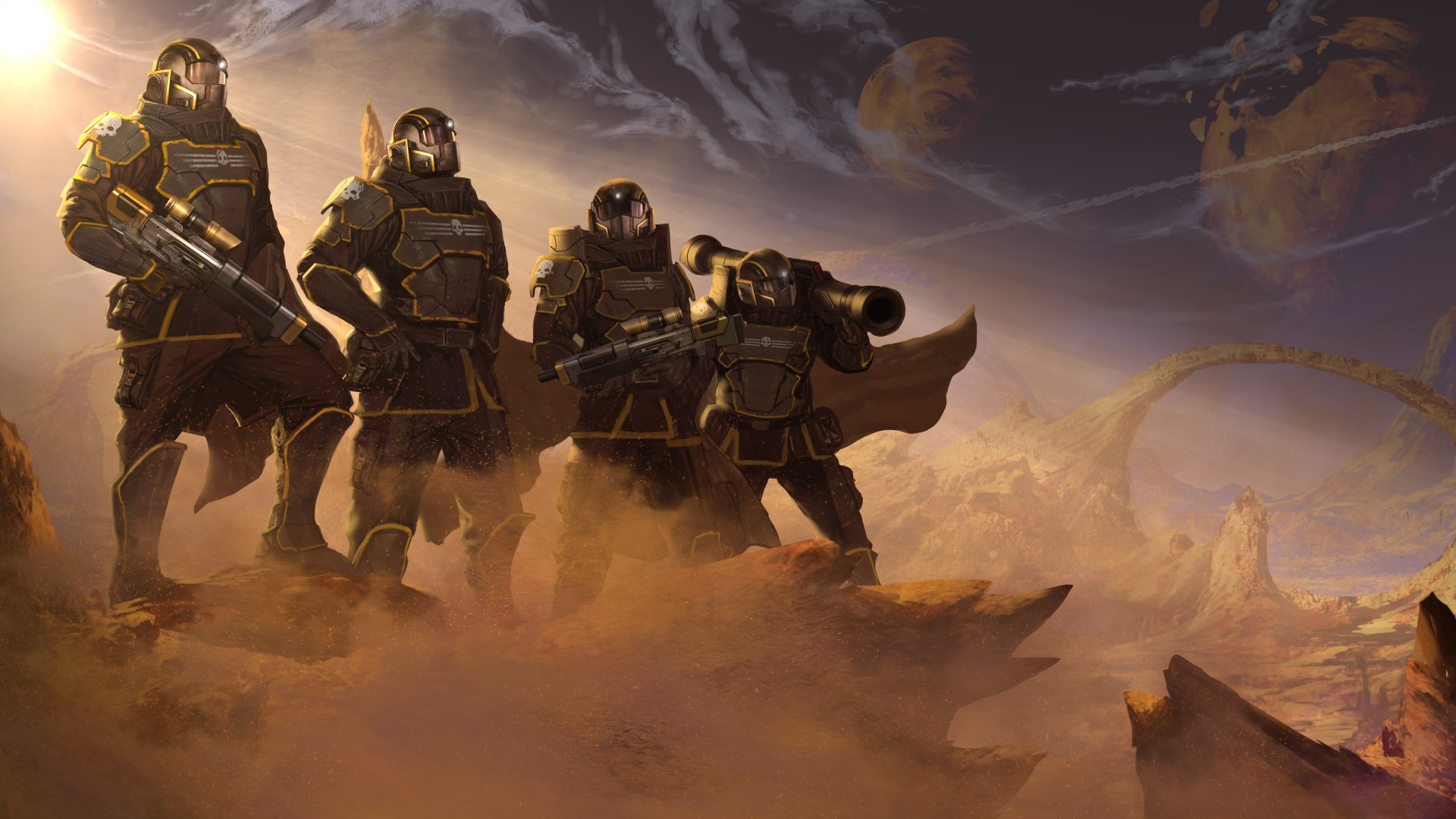 Helldivers PC photo