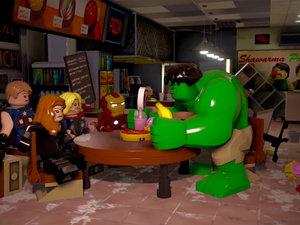 Lego Avengers photo