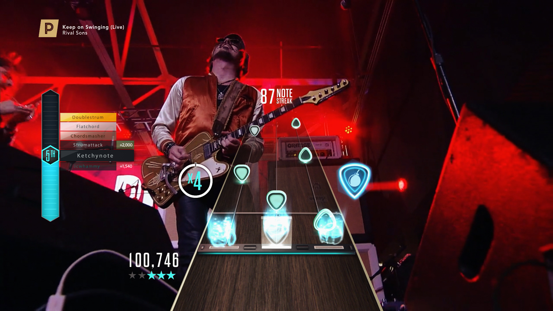 Avenged Sevenfold is hosting a show on Guitar Hero Live this week screenshot