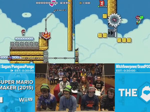 Mario Maker insanity photo