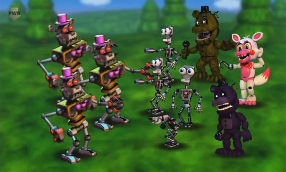 we re about a month out from five nights at freddy s world