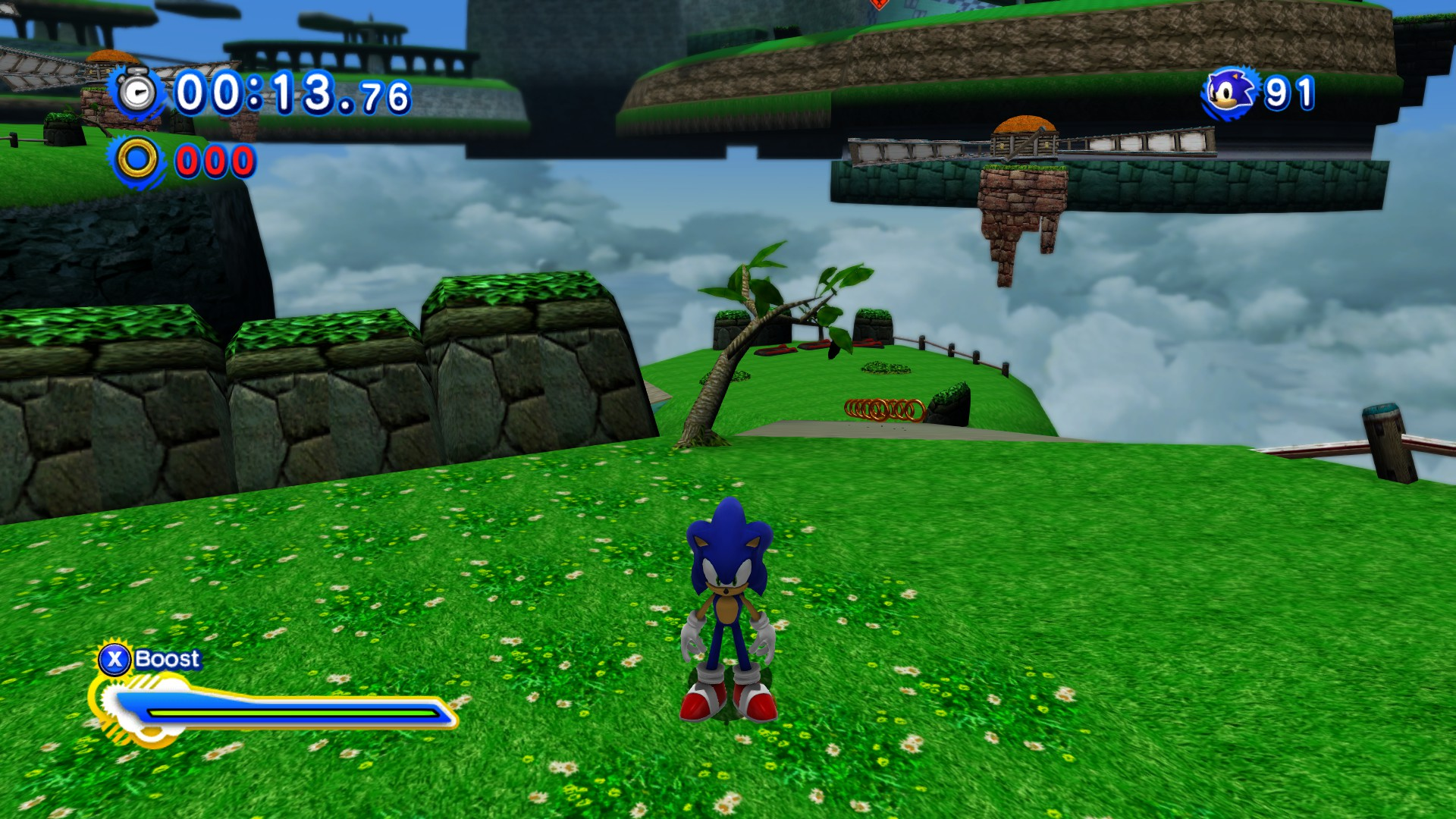 Community Blog by CoilWhine // Sonic Generations Mod