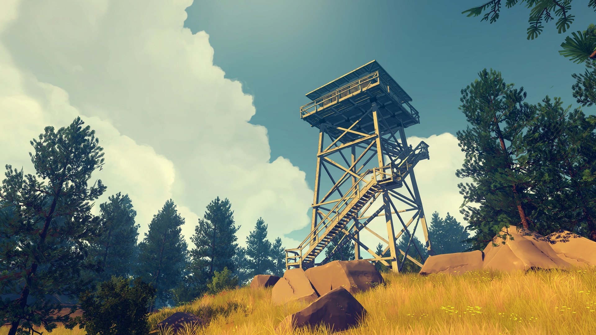Firewatch, with me! photo