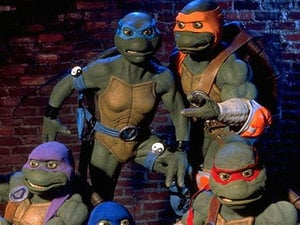 Leonardo can slow time in Teenage Mutant Ninja Turtles: Mutants in Manhattan photo