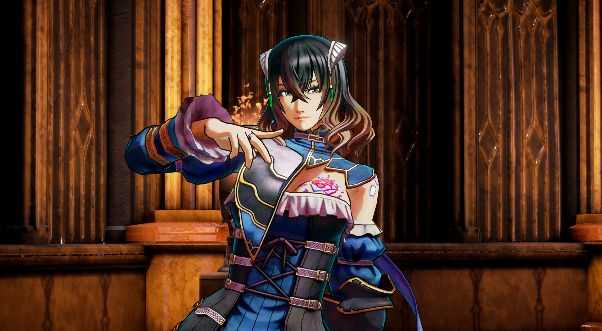 3D Character Porn bloodstained development update offers 3d model glamour shots