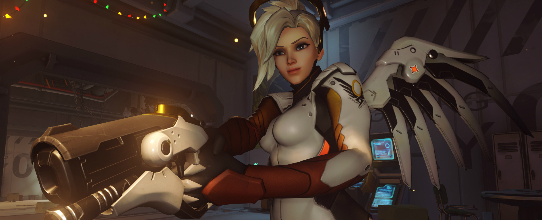 This is why you always take a support in Overwatch screenshot