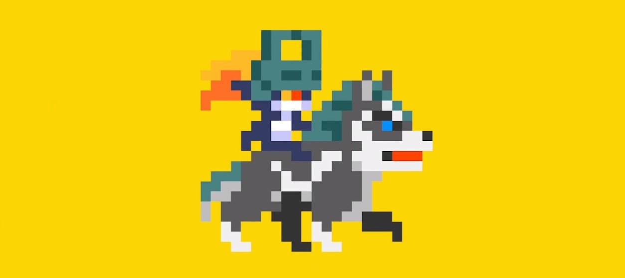 See Wolf Link and Midna in action in Super Mario Maker screenshot
