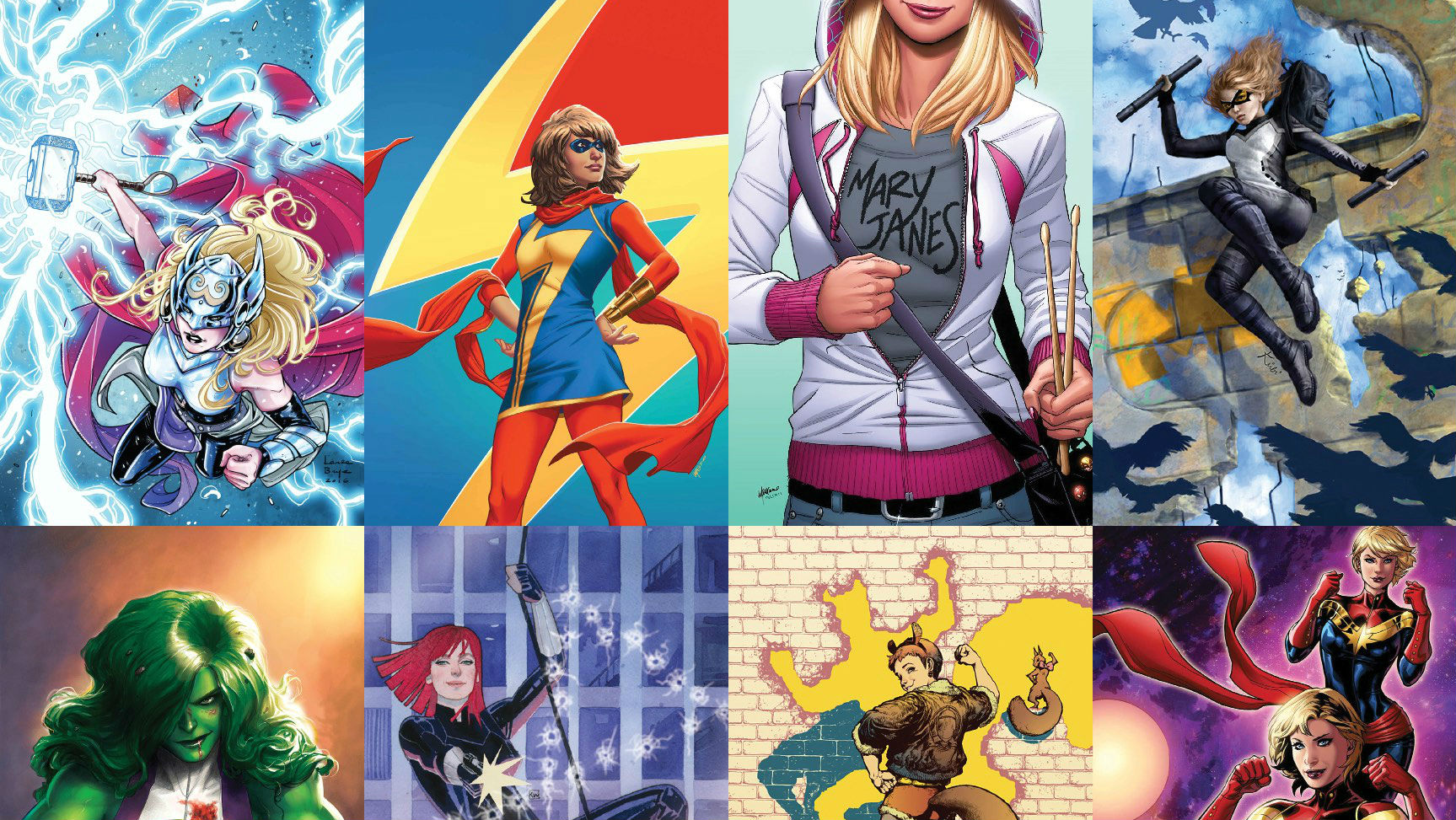 Marvel announces 'Women of Power' campaign this month screenshot