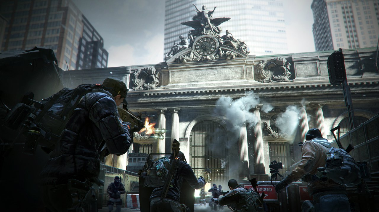 Where is our review for The Division? It won't come until after launch screenshot