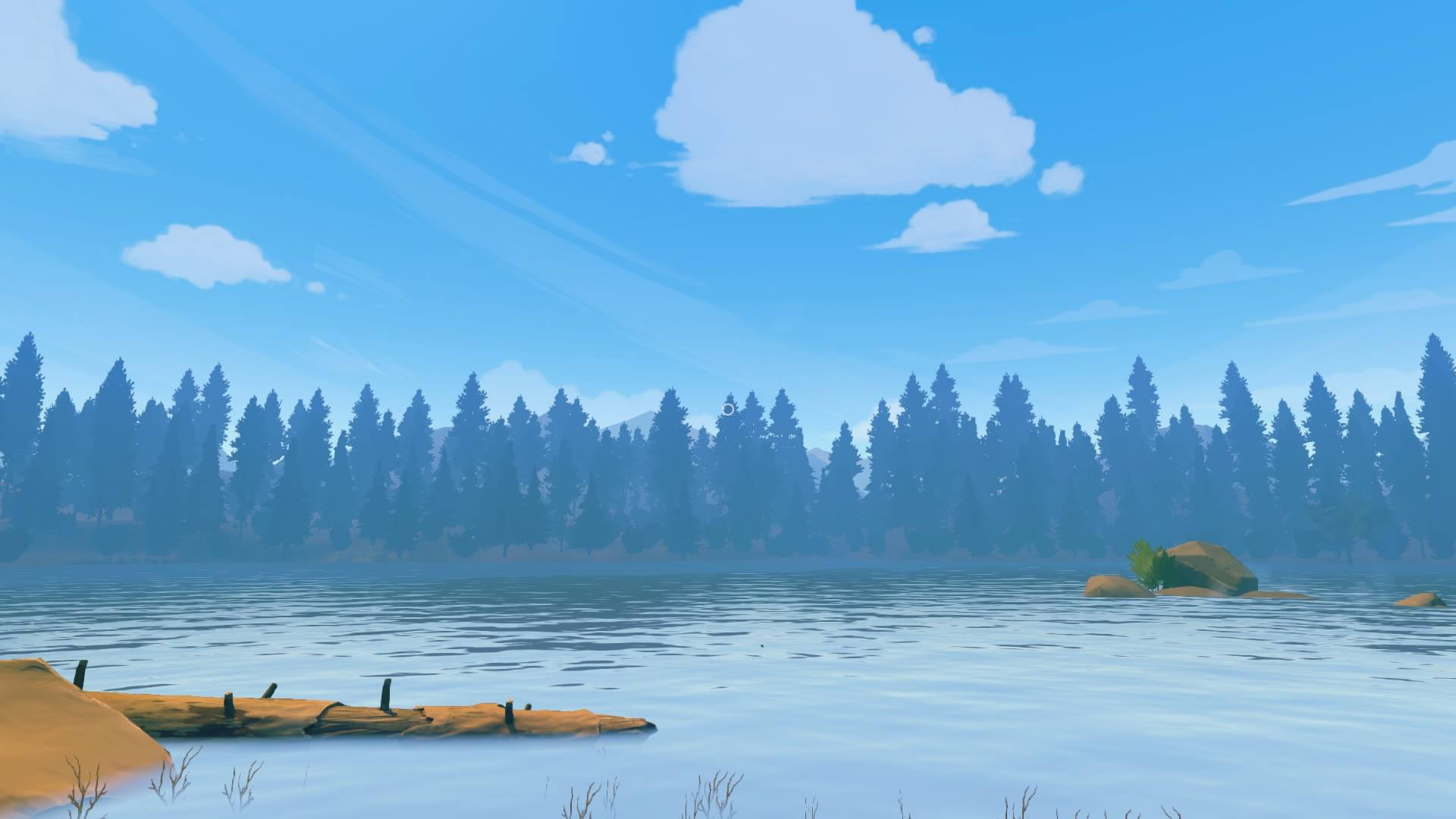 Firewatch, or how I dealt with being alone screenshot