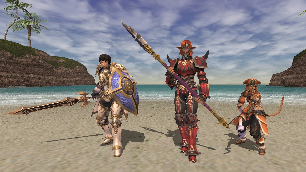 Check out Final Fantasy XI's mobile reboot