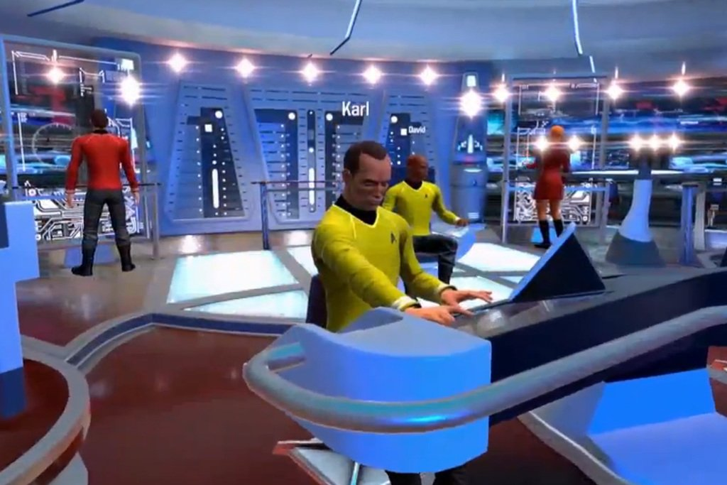 Star Trek: Bridge Crew is one Second Life-looking VR game