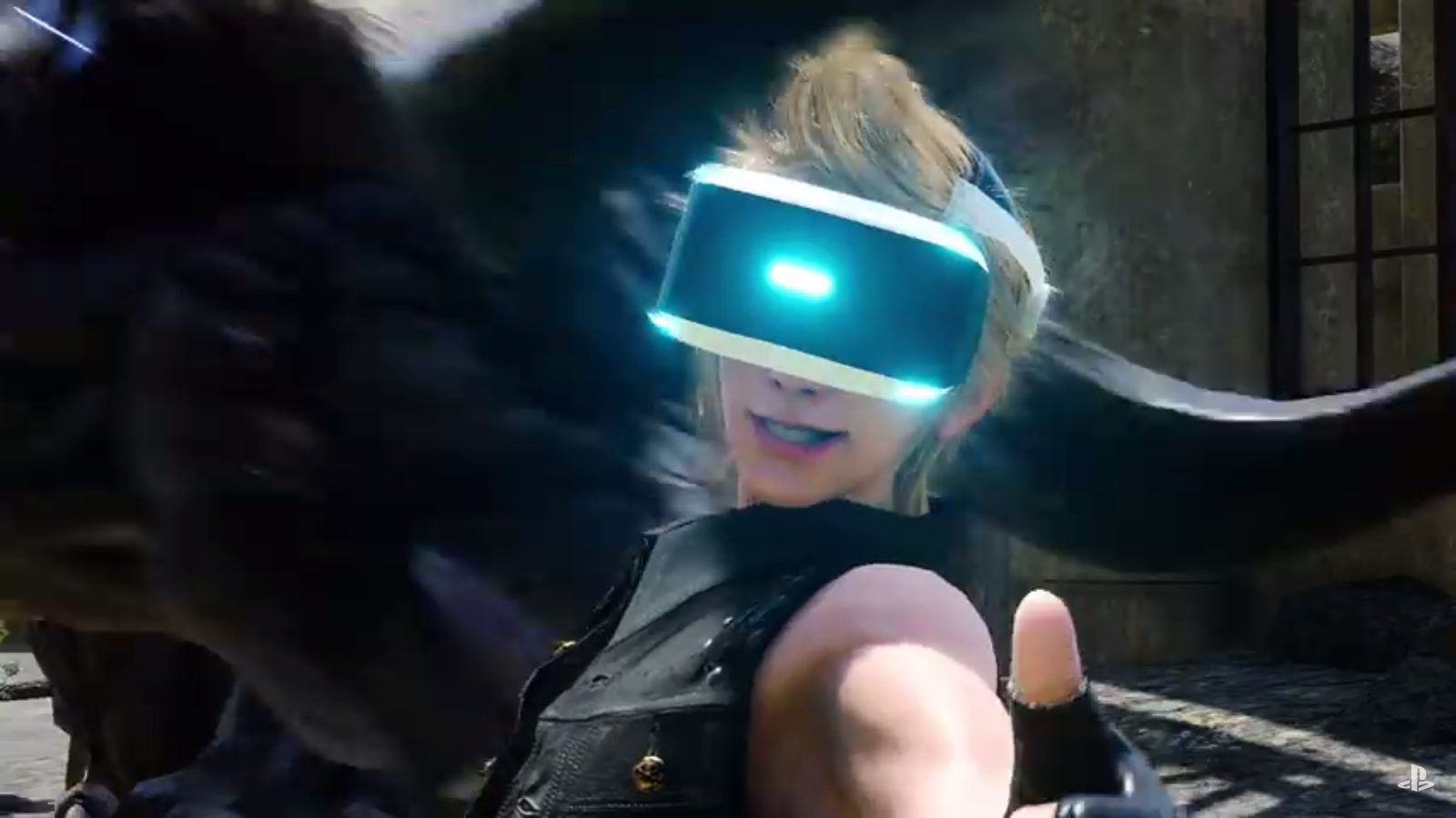 Final Fantasy XV VR Experience kind of sucks screenshot