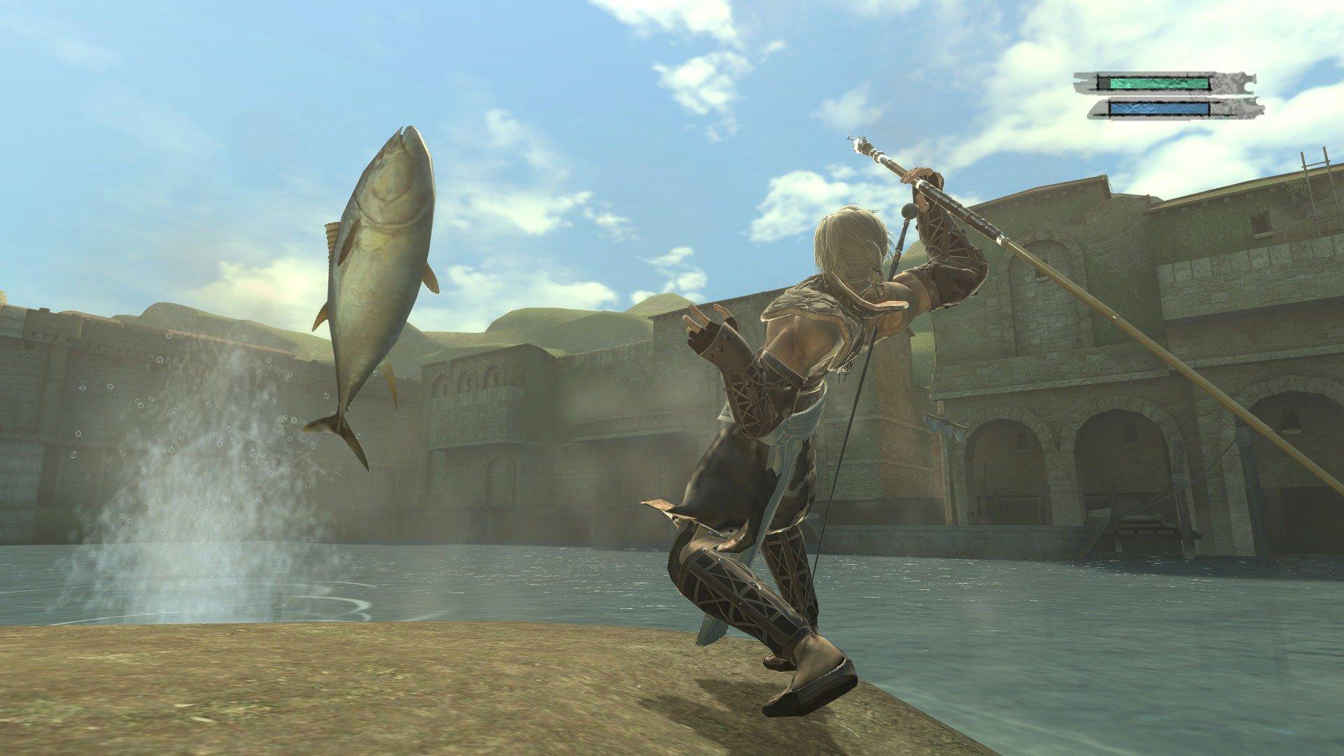 Fishing CONFIRMED for NieR: Automata  screenshot