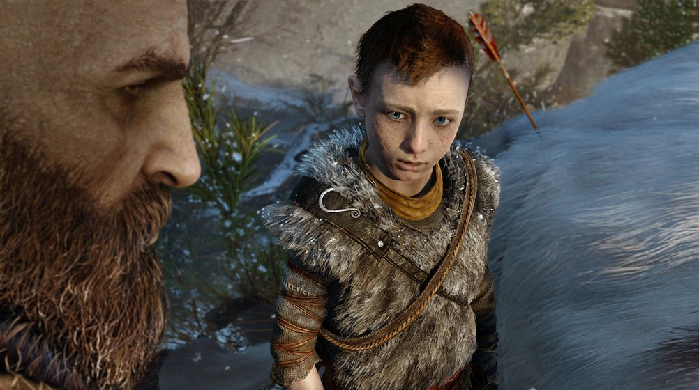 The new God of War brings welcomed humanity to its violent god screenshot