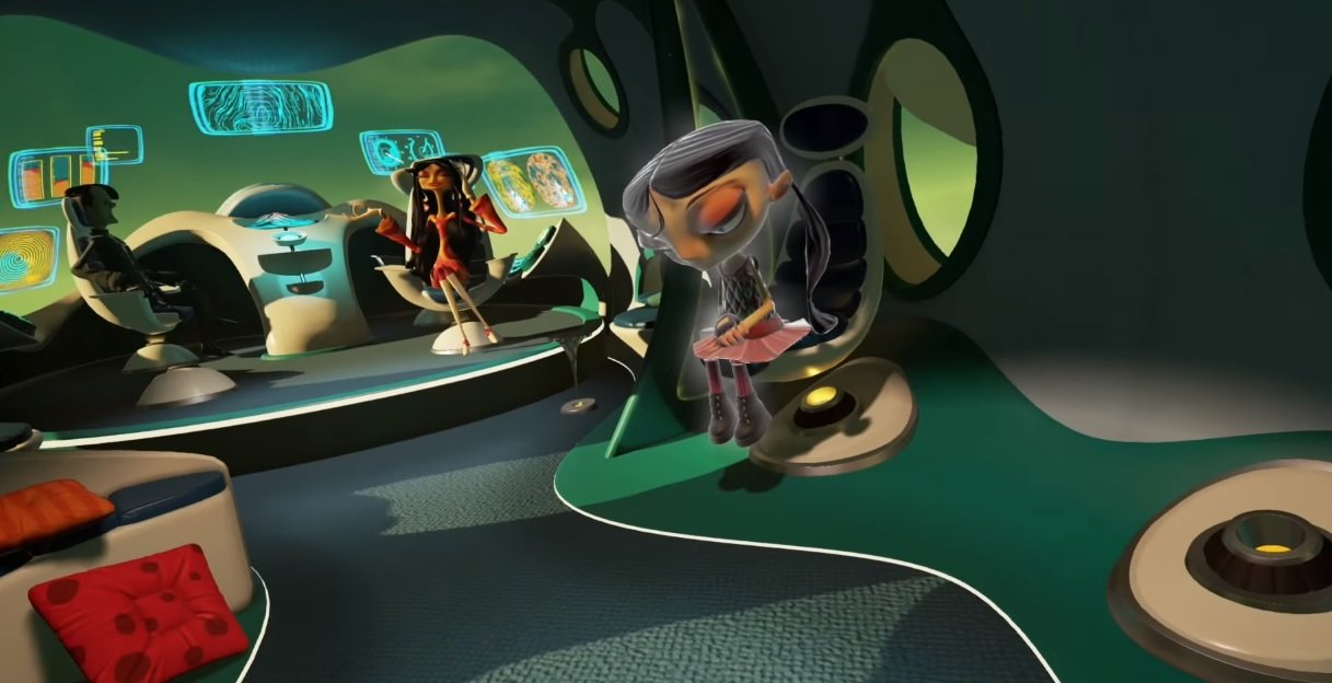 Image result for Psychonauts in the Rhombus of Ruin VR