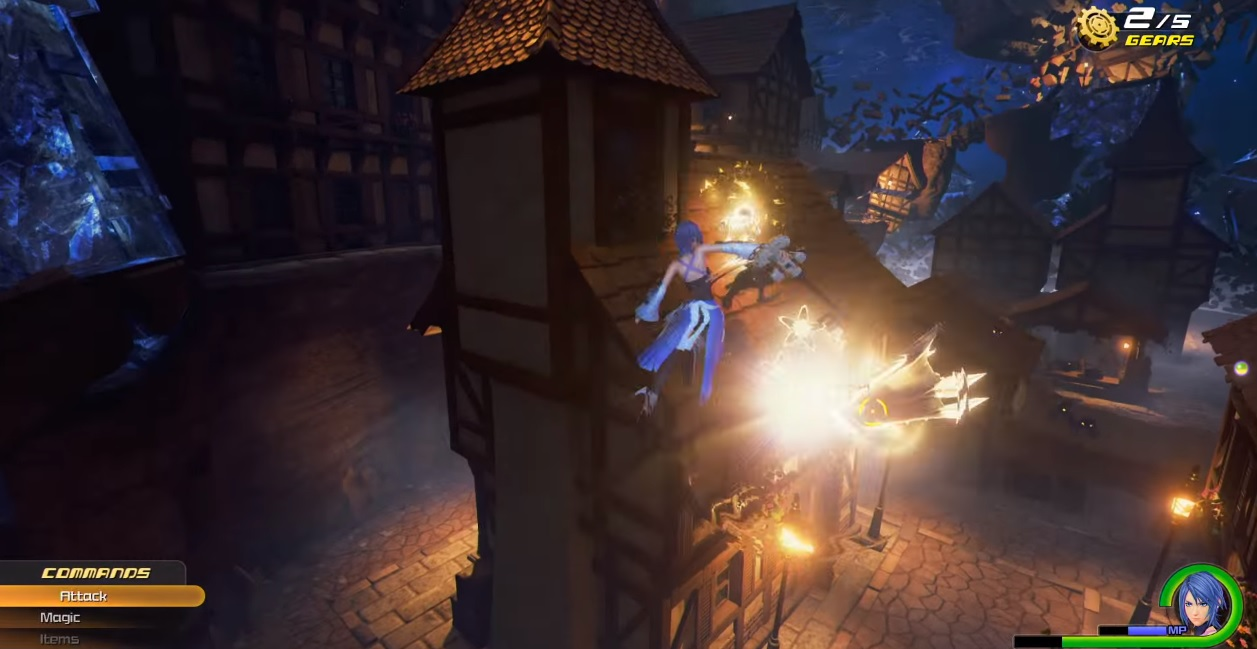 Square Enix gives us more footage of Kingdom Hearts HD 2.8 Final Chapter Prologue at 60FPS screenshot