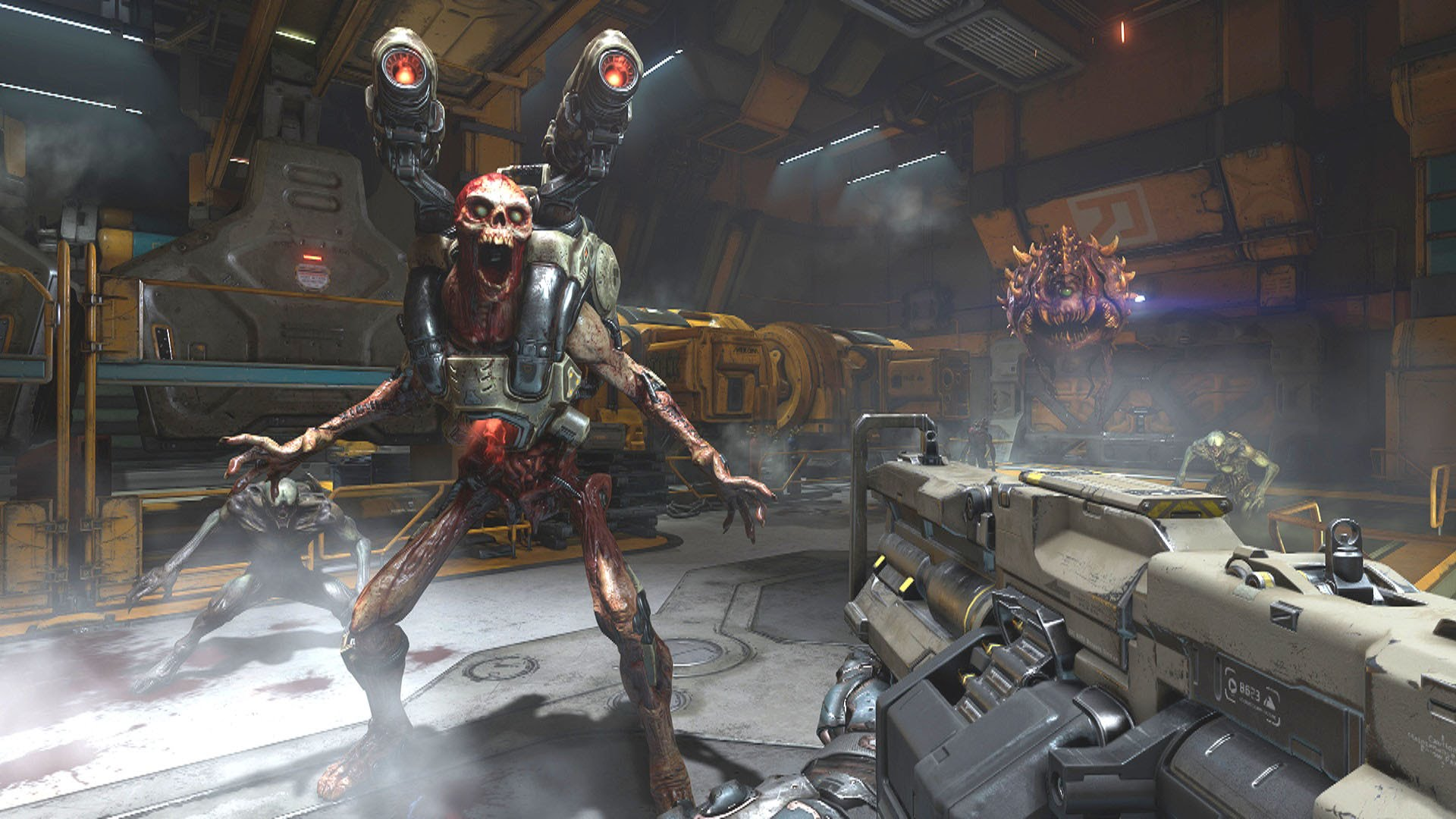 Doom's next update has a neat feature that's a callback to the original game