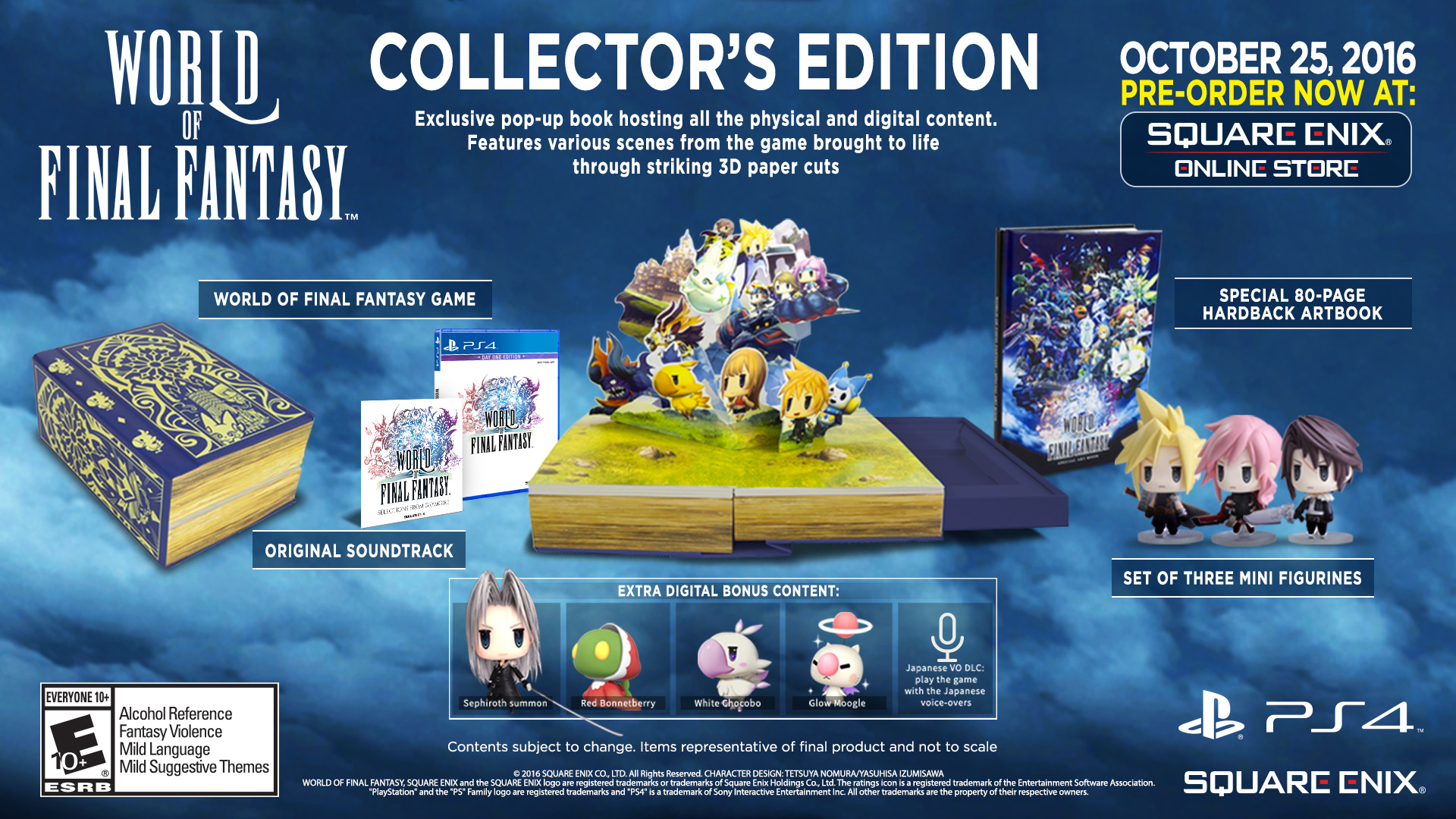 The World Of Final Fantasy Collector S Edition Is Massive