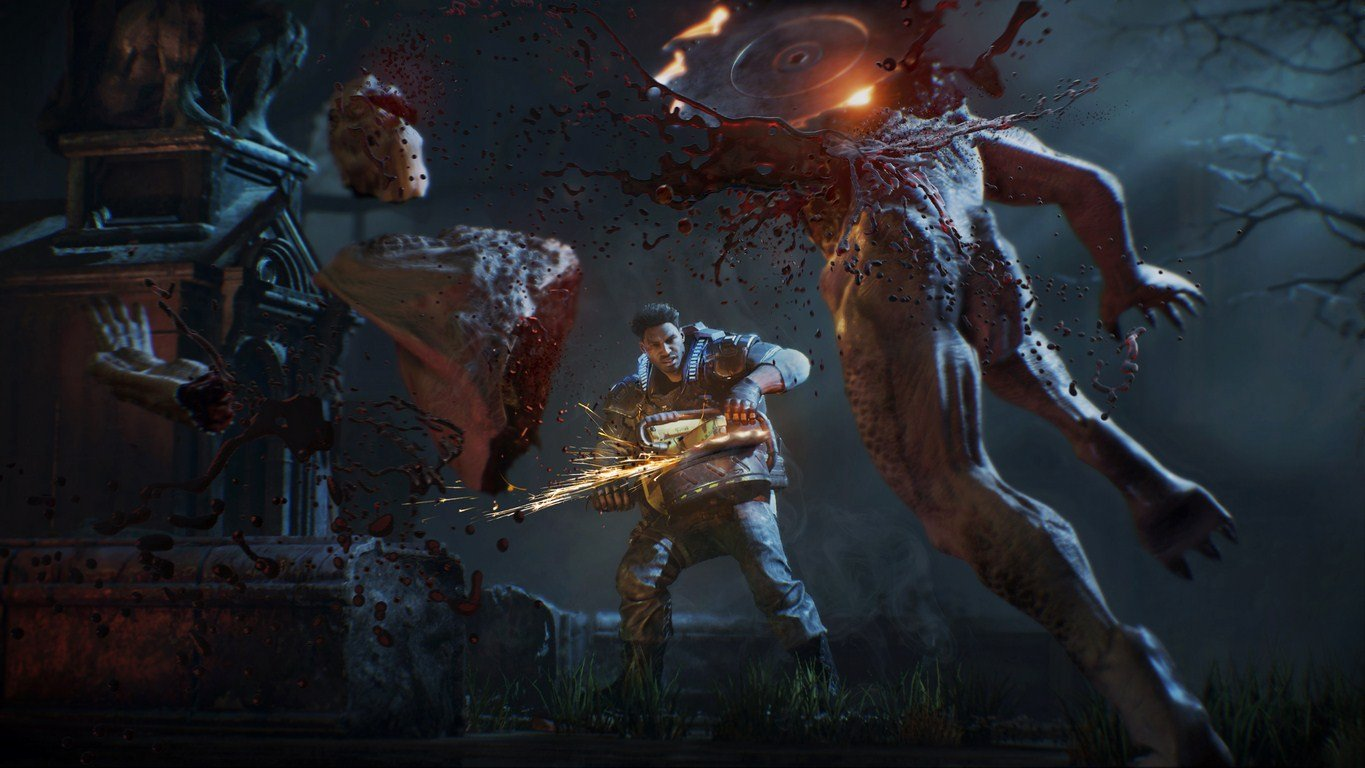 Gears of War 4 doesn't have a locked frame rate on PC