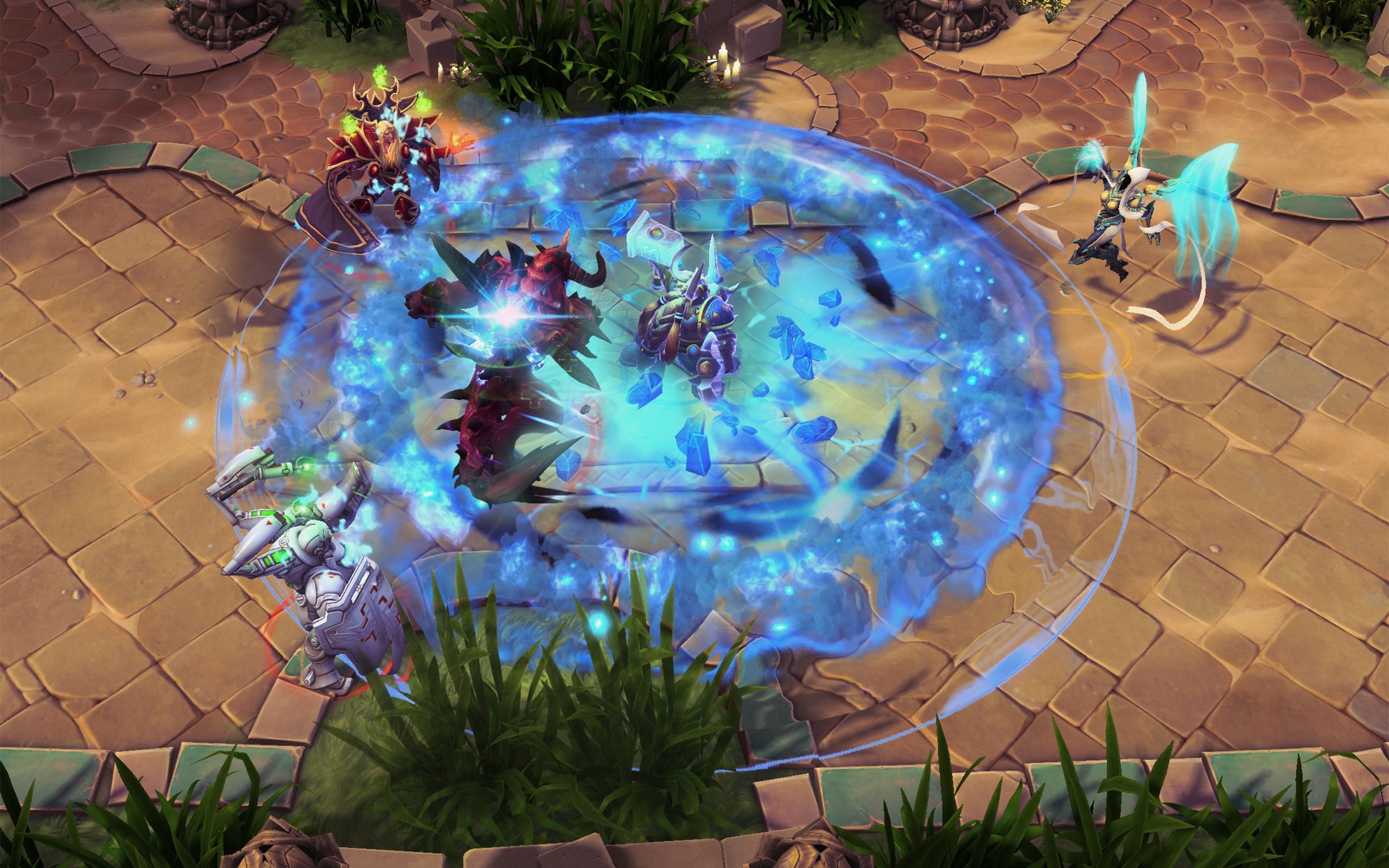 Heroes Of The Storm Developers Talk Hero Balance And Map Design