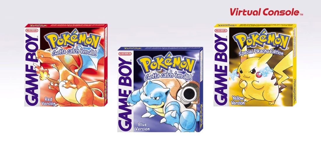3DS copies of Pokemon Red, Blue, and Yellow on sale for $8 screenshot