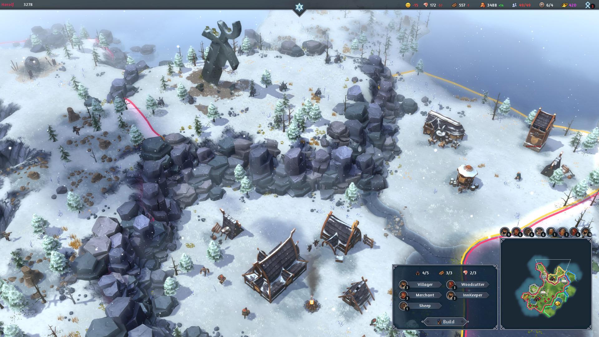 Viking settlement builder Northgard seems like the good stuff