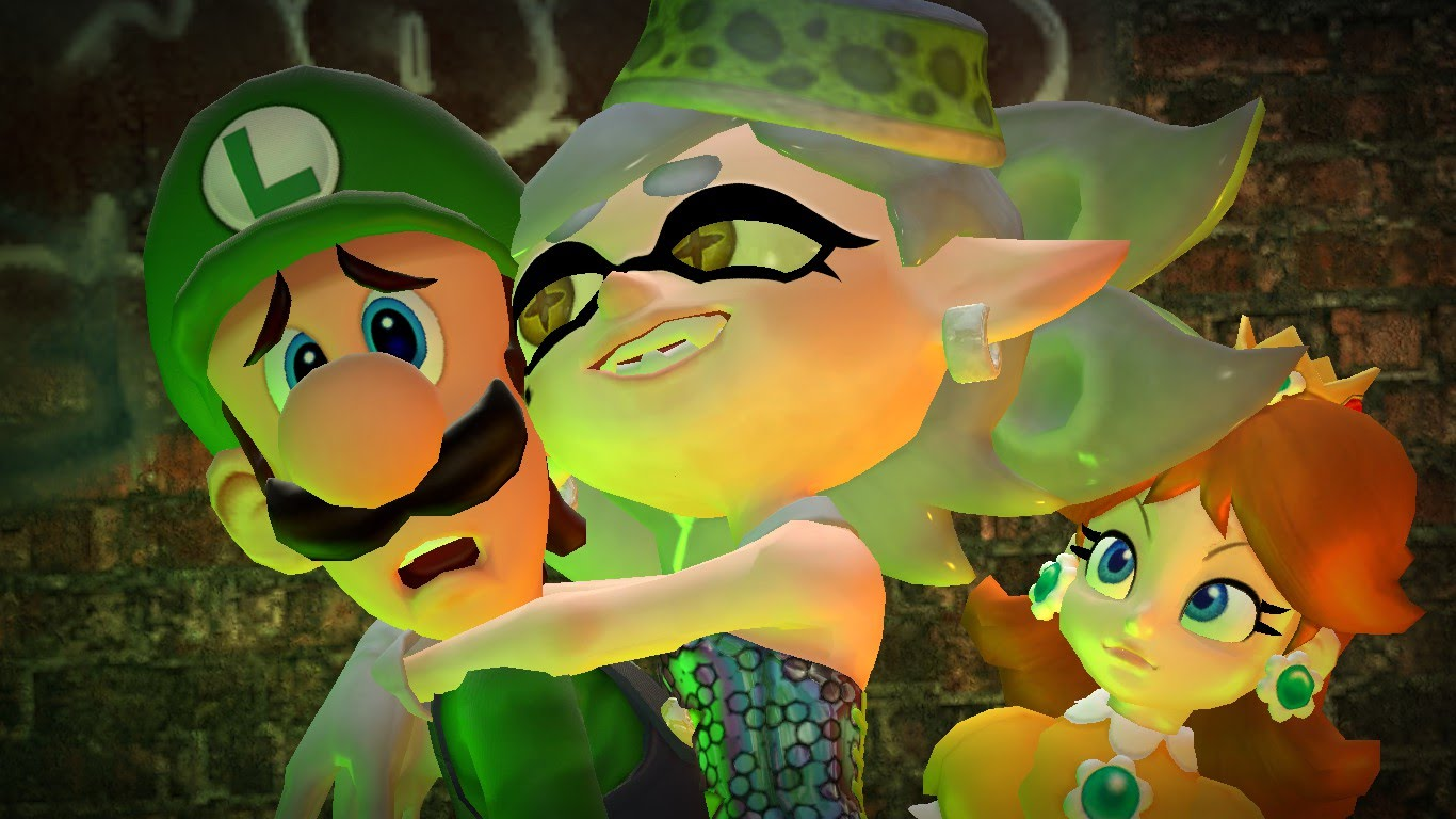 luigi s color came from graphical limitations
