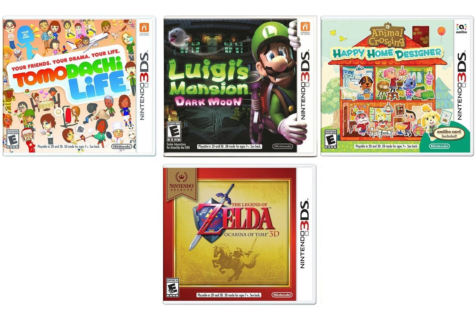 Nintendo 3DS Games are 2 for $30 at Toys R Us