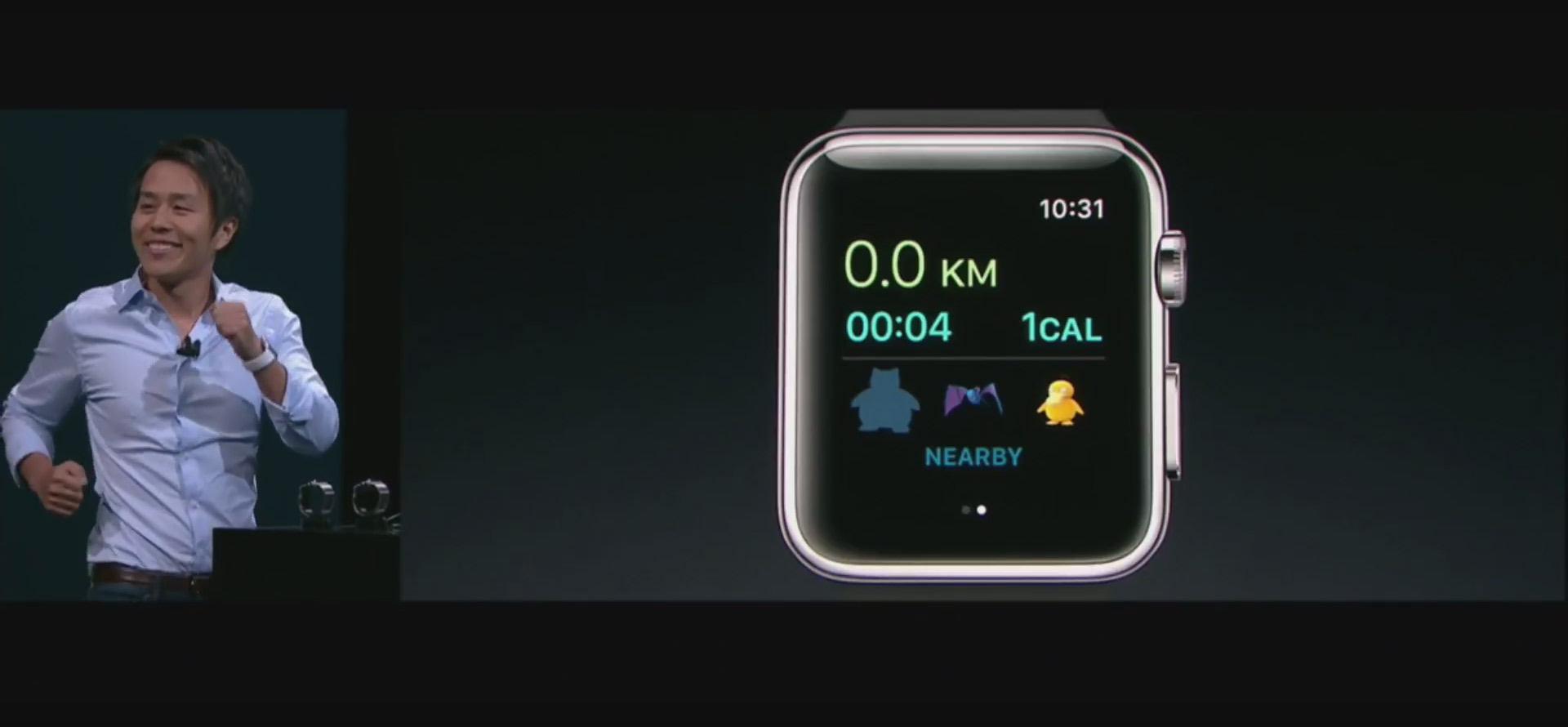 Pokemon Go is coming to Apple Watch this year screenshot