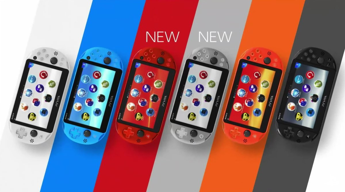 PS Vita colour