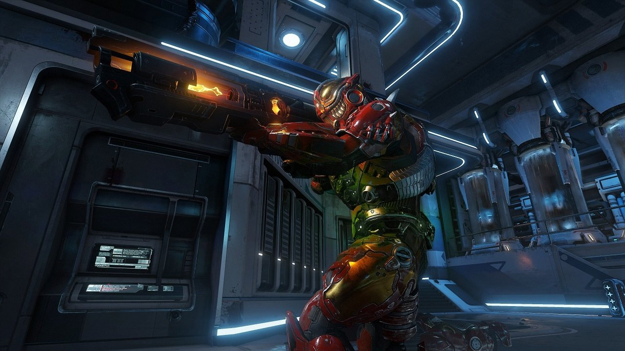 Doom's latest update brings out free-for-all deathmatch