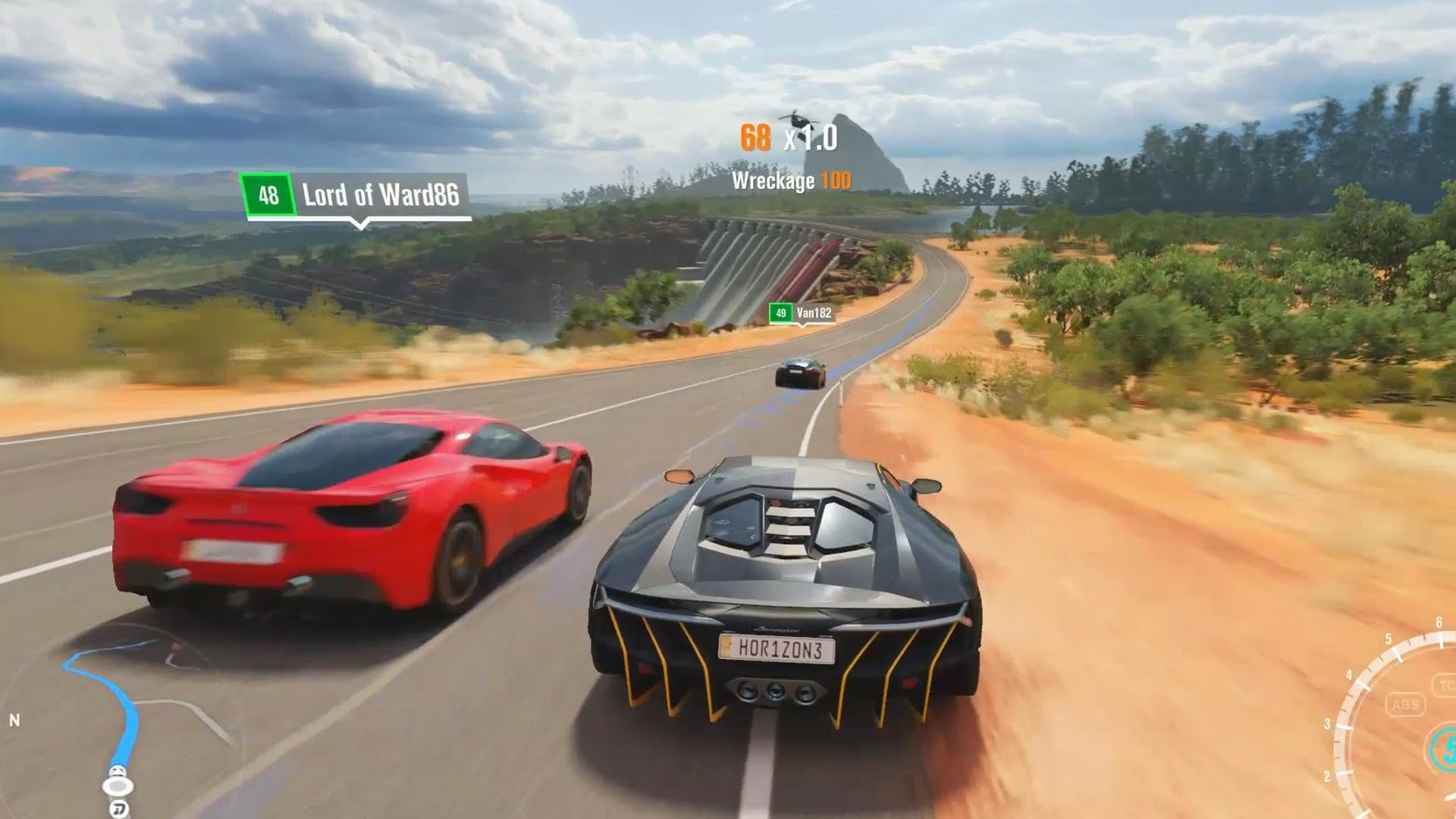 Gamer races against the ghost of his departed friend in Forza Horizon 3