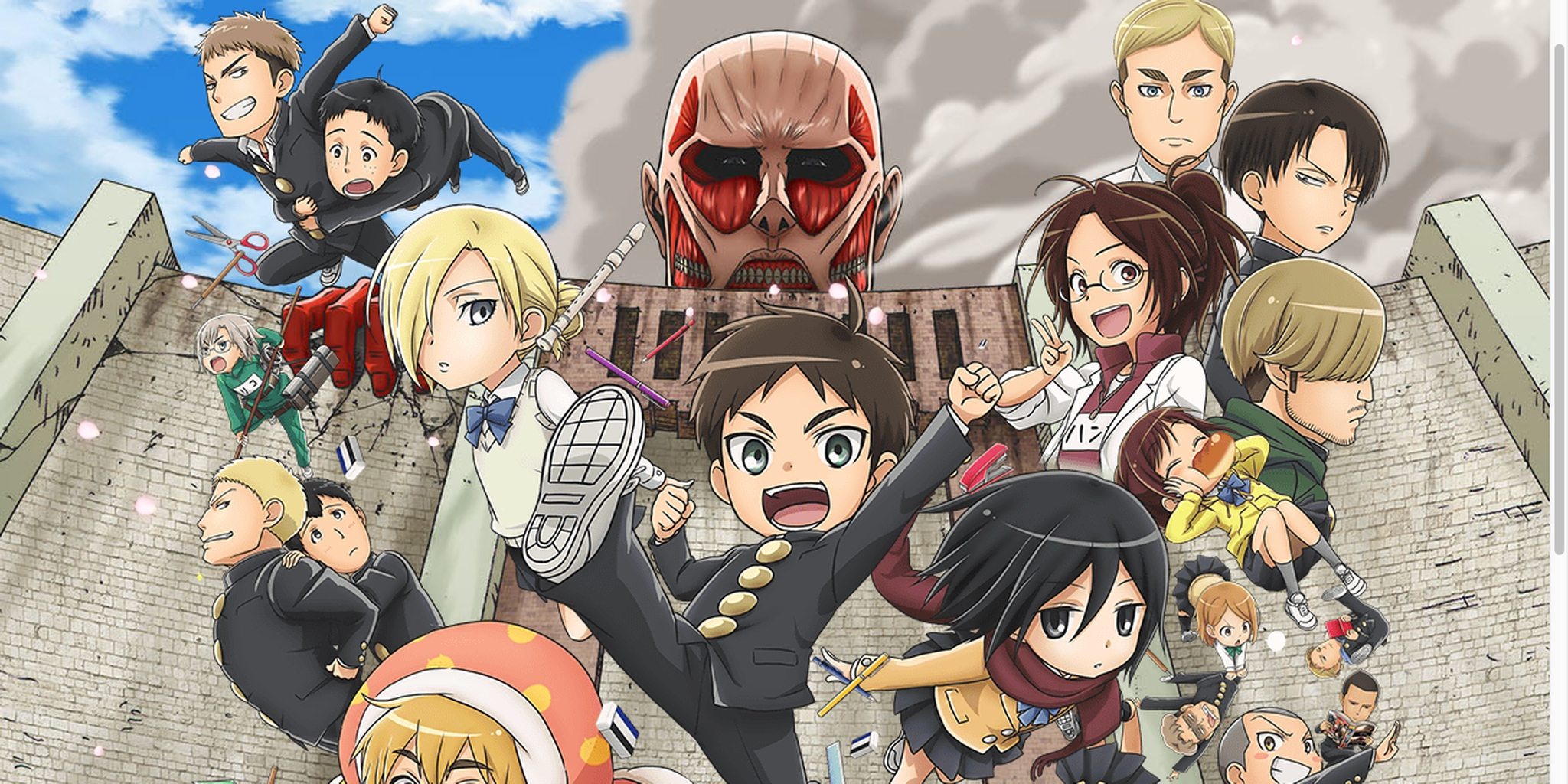 Another Attack On Titan Game Is Coming To 3ds