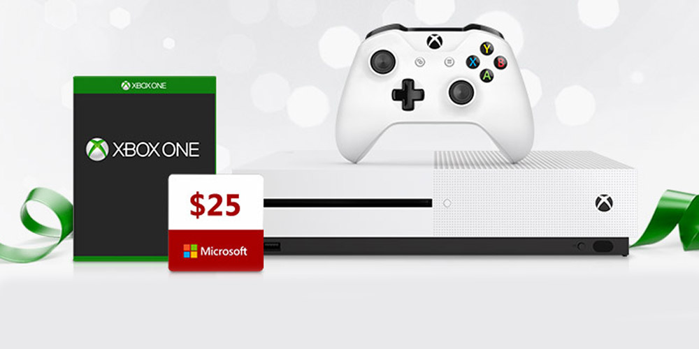 Xbox One S Black Friday deals with free game + $25 gift code