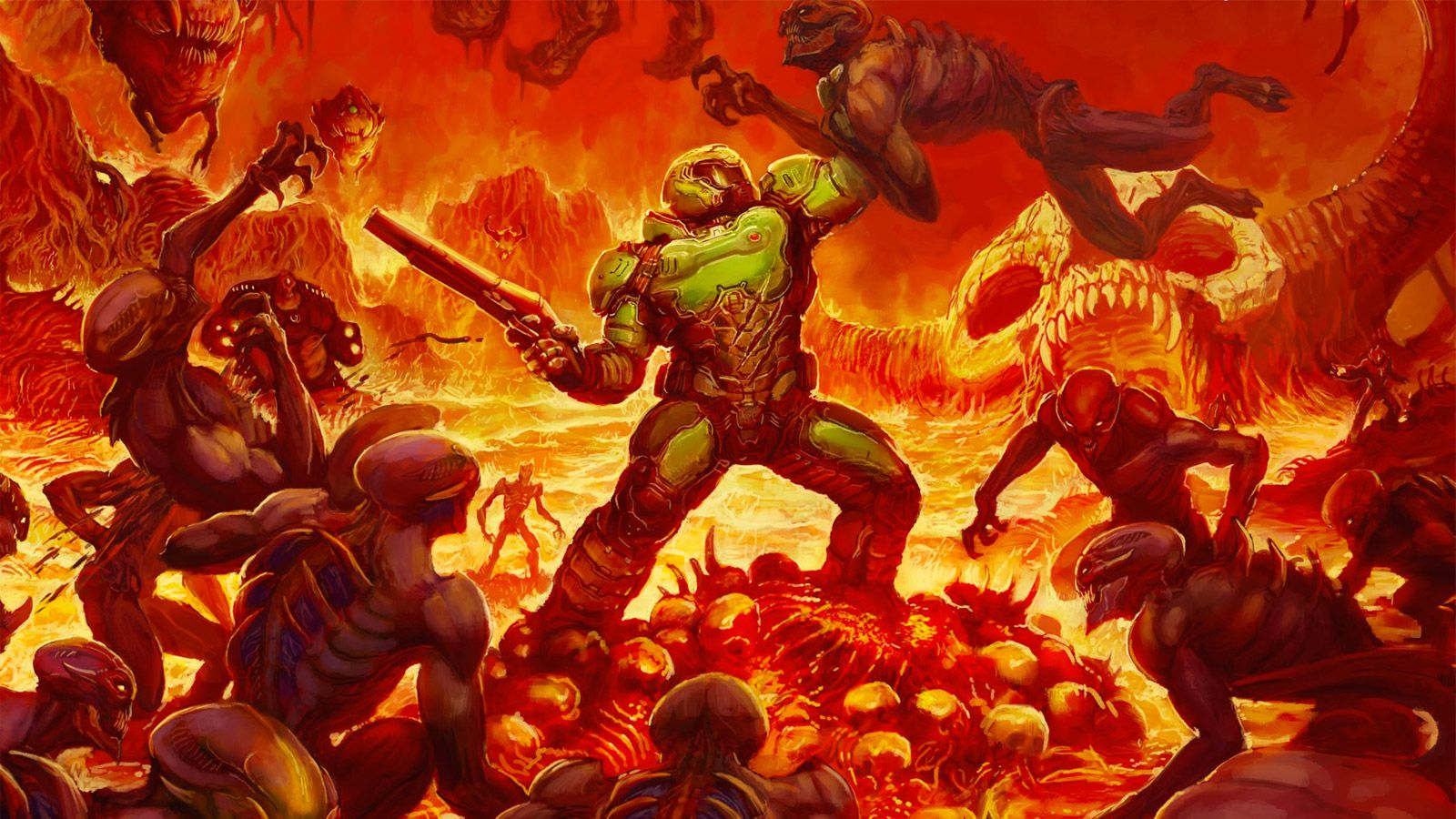 Doom 4 was canceled because it felt too much like Call of Duty screenshot
